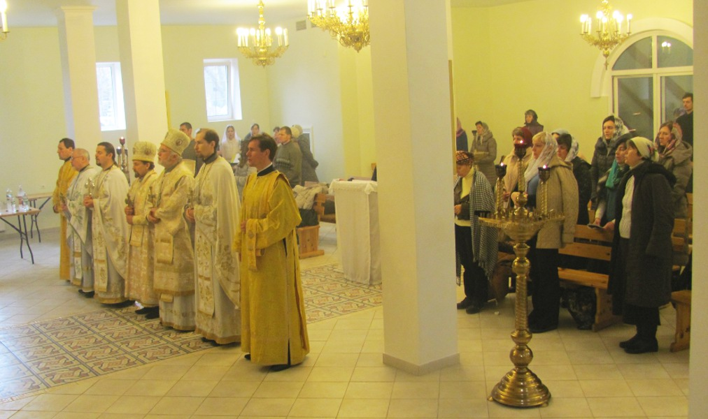 Joint prayer for God's care of Ukraine