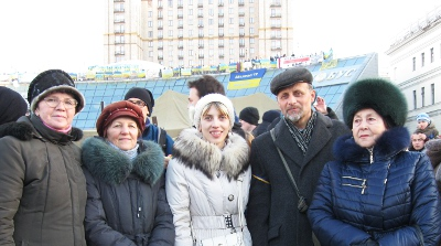 Participation in the general assembly in blessed Maidan