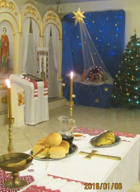 On Christmas Eve, January 6, 2016, in the Transfiguration of the Lord Temple
