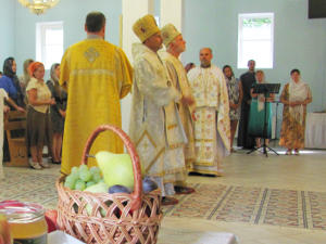 Day of the Transfiguration of the Lord in the Temple of the Transfiguration of the Lord
