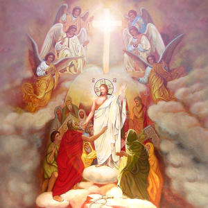 Holy Resurrection of the Lord  in the temple of Transfiguration of the Lord