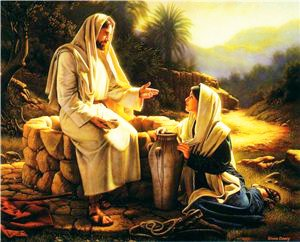 About Jesus Christ's conversation with the woman of Samaria and about the gifted to all people the Source of Eternal Life