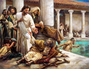 About the healing of the invalid at the Pool on the Sabbath and about the lack of faith because of spiritual crisis in the society