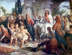 About the entry of Jesus Christ to Jerusalem, about temptations and about spiritual base of the man