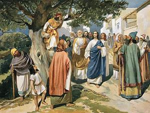 About the chief tax collector Zacchaeus