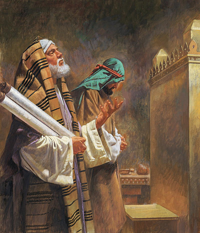 About the Pharisee and the Tax Collector, about the prayer and the salvation