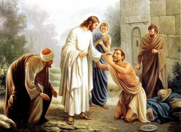 About the miracle of healing form physical and spiritual blindness