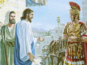 About the faith of Centurion and about love to neighbors - it will save Ukraine