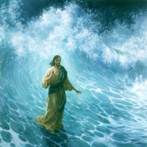 About the miracle of walking on water and about the faith, that changes the conscience of people