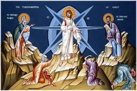 "Icon ""Transfiguration of the Lord"""