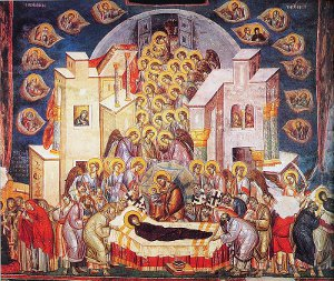 The Orthodox Feast The Dormition tof the Holy Lady